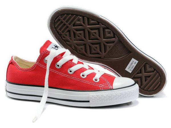 Converse Chuck Taylor All Star красные (35-40)