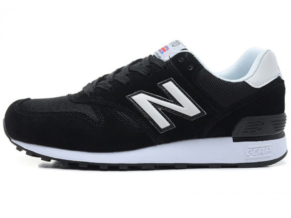 Кроссовки New Balance 670 черные с белым