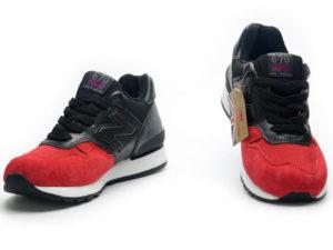 Кроссовки New Balance 670 мужские красно-черные - фото спереди