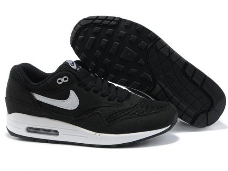 Кроссовки Nike Air Max 87 мужские черные с белым