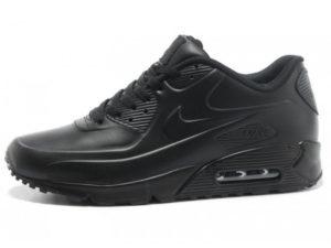 Кроссовки Nike Air Max 90 черные - фото слева