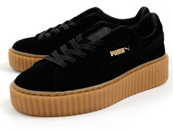 Кроссовки Puma by Rihanna Creeper женские черные