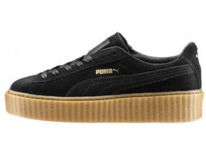 Кроссовки Puma by Rihanna Creeper женские черные - фото слева