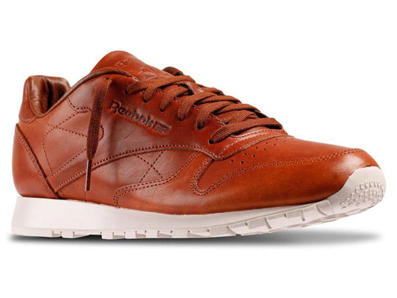 Кроссовки Reebok Classic мужские коричневые