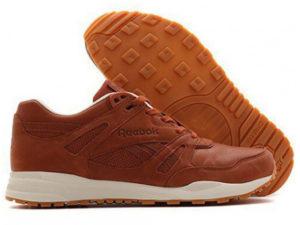 Кроссовки Reebok Classic мужские коричневые - общее фото