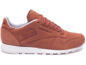 Кроссовки Reebok Classic мужские коричневые - фото справа
