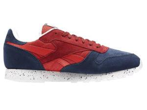 Кроссовки Reebok Classic женские красно-синие - фото справа