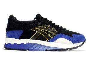 Кроссовки Asics Gel Lyte 5 мужские черные с синим - фото слева