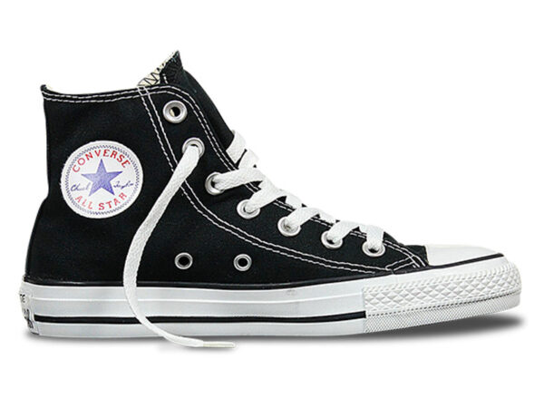 Converse Chuck Taylor All Star High черные с белым (35-45)