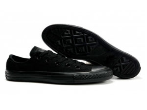 Кеды Converse Chuck Taylor All Star Night черные - общее фото