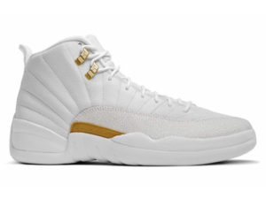 Кроссовки Nike Air Jordan 12 Retro белые мужские - фото справа