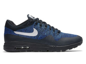 Кроссовки Nike Air Max 87 синие с черным мужские - фото справа
