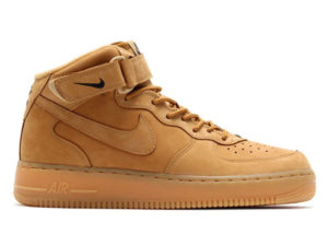 Кроссовки Nike Air Force 1 Mid 07 песочные мужские - фото справа