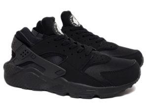 Кроссовки Nike Air Huarache Ultra черные мужские - общее фото