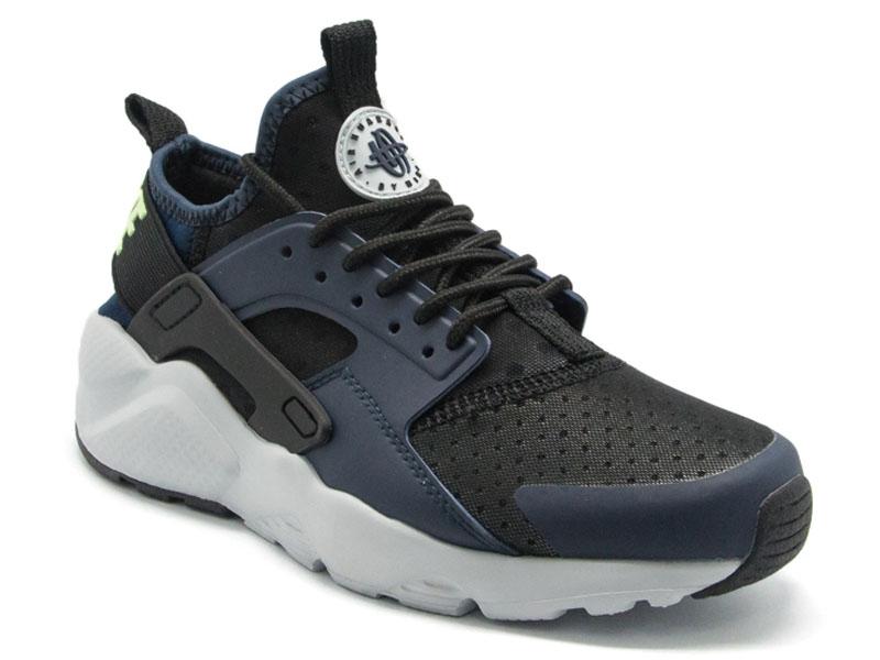 Кроссовки Nike Air Huarache Ultra темно-синие с черным мужские