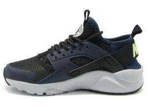 Кроссовки Nike Air Huarache Ultra темно-синие с черным мужские - фото слева