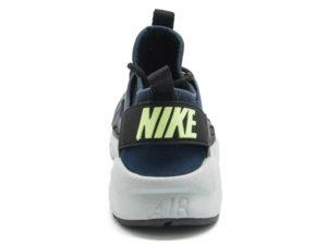 Кроссовки Nike Air Huarache Ultra темно-синие с черным мужские - фото сзади