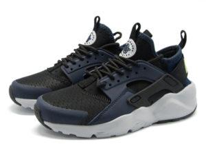Кроссовки Nike Air Huarache Ultra темно-синие с черным мужские - общее фото