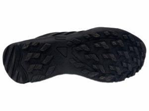 Зимние Adidas Terrex Outdoor черные - фото подошвы