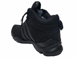 Зимние Adidas Terrex Outdoor черные - фото сзади
