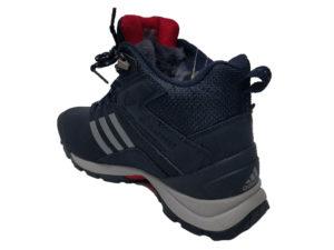 Зимние Adidas Climaproof Mid Men's темно-синие - фото сзади