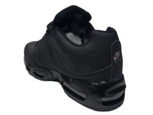 Зимние Nike Air Max 95 Low черные - фото сзади