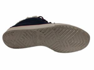 Зимние Adidas Ransom темно-синие - фото подошвы