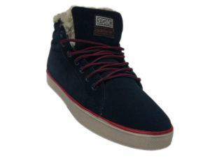 Зимние Adidas Ransom темно-синие - фото спереди