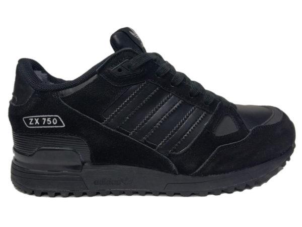 Зимние Adidas ZX 750 Low черные