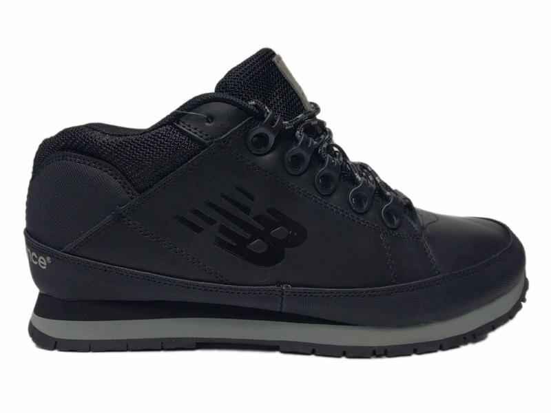 Зимние New Balance 754 Leather черные