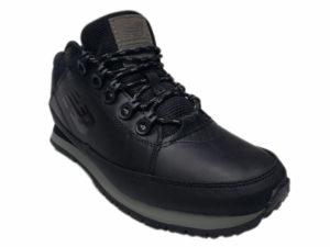 Зимние New Balance 754 Leather черные - фото спереди