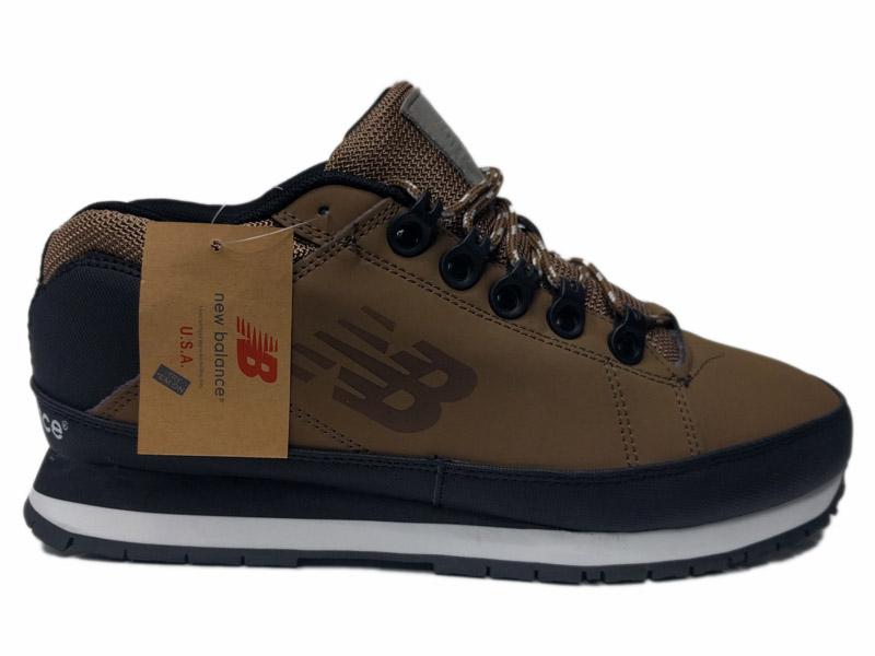 Зимние New Balance 754 Leather болотные