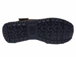 Зимние New Balance 754 Leather болотные - фото подошвы