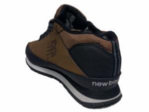 Зимние New Balance 754 Leather болотные - фото сзади