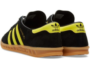 Adidas Hamburg черные с желтым