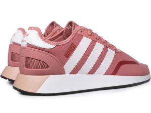 Adidas N-5923 Iniki Runner розовые с белым