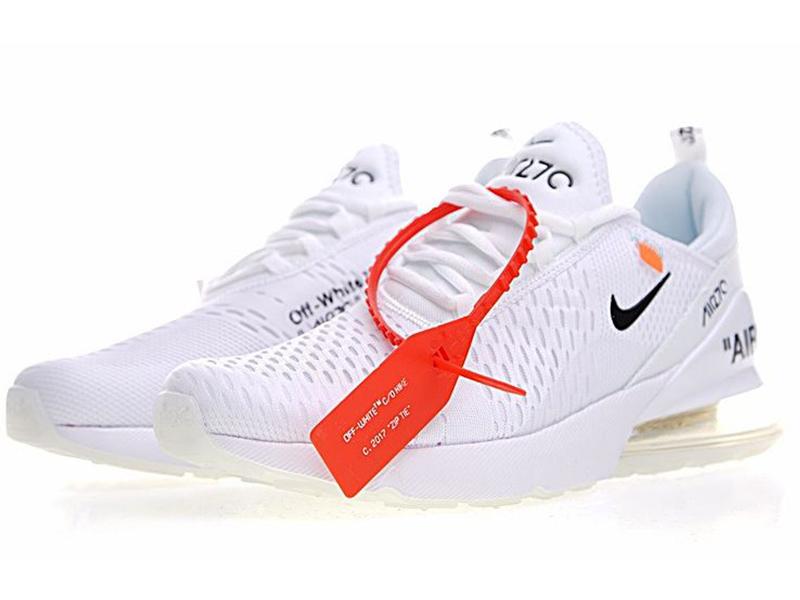 Nike Air Max 270 Off White X белые