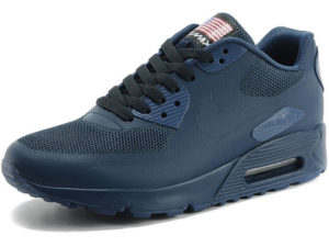Nike Air Max 90 Hyperfuse темно-синие