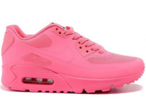 Nike Air Max 90 Hyperfuse розовые