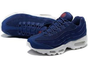 Nike Air Max 95 x Stussy синие с белым