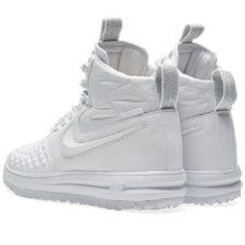 Зимние Nike Air Force 1 с МЕХОМ Lunar Duckboot White белые (35-45)