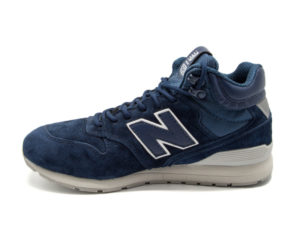 Кроссовки New Balance 696 замшевые темно-синие (40-45)