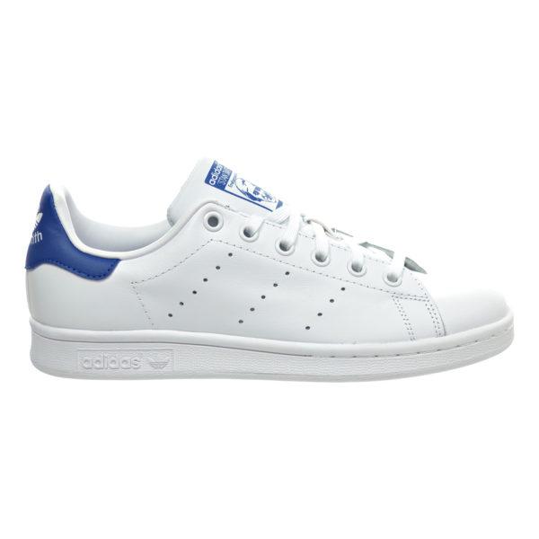 Adidas Stan Smith белые с синим (36-40)