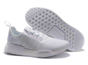 Adidas NMD XR1 Primeknit БЕЛЫЕ