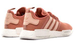 Adidas NMD R1 розовые с белым