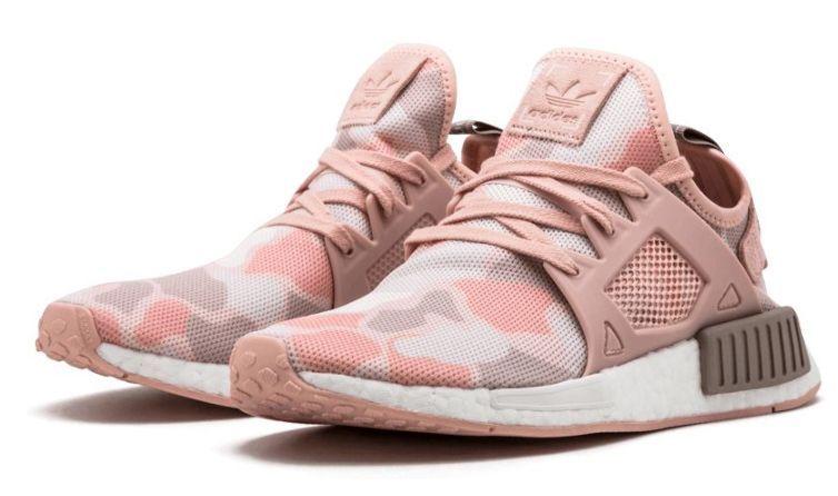 Adidas NMD R1 розовые камуфляж