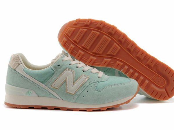 Кроссовки New Balance 996 светло-бирюзовые (35-39)