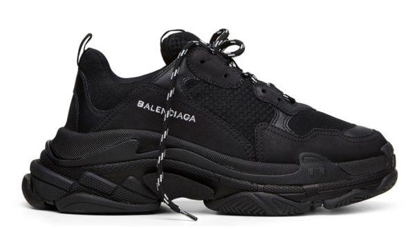 Низкие мужские кроссовки Balenciaga