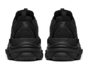 Balenciaga Triple S black черные женские мужские (35-44)
