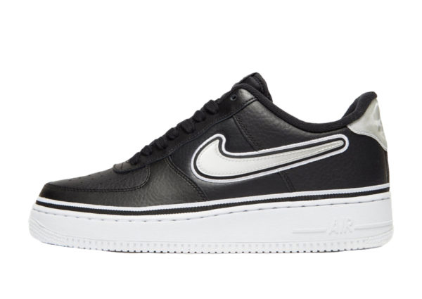 Nike Air Force 1 '07 LV8 Sport NBA черно-белые (40-44)